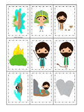 Moses Memory Match Game. Preschool Bible History Curriculum Studies. Christian C