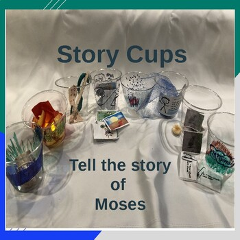 Moses - Story Cups