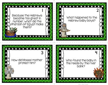 Moses Task Cards