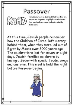 Moses, The Plagues and Passover