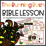 Moses and the Burning Bush Bible Lesson