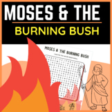 Moses and the Burning Bush Bible Word Search