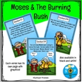 Moses and the Burning Bush Scripture Set