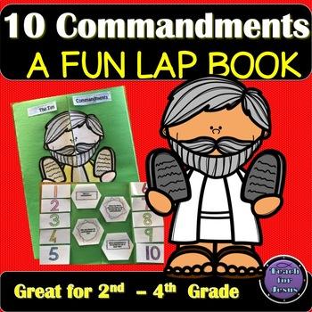 Moses and the Ten Commandments Lap Book