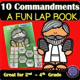 Moses and the Ten Commandments Lap Book