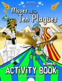 Moses and the Ten Plagues Activity Book for Beginners