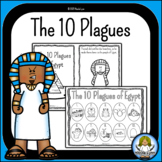 Moses and the Ten Plagues of Egypt Mini Book and Worksheets