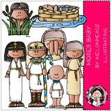 Moses baby clip art - Bible - COMBO PACK - by Melonheadz
