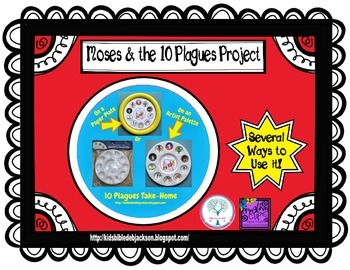 Moses & the 10 Plagues Project Freebie