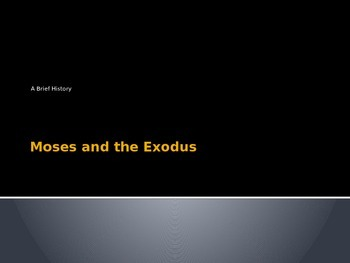 Moses, the Exodus and the Seder - A Catholic Analysis