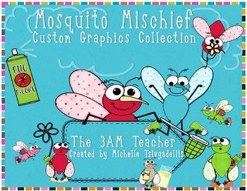 Mosquito Custom Clip Art