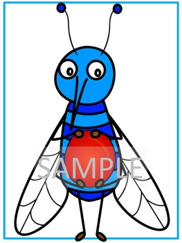 Mosquitoes *Penny & Ellie's Doghouse Clipart*