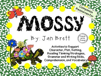 Mossy by Jan Brett:  A Complete Literature Study!