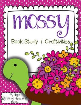 Mossy by Jan Brett {Book Study & Turtle Craftivities}