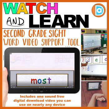 Most | 2nd Grade Sight Word Building Video | 4 Letter Word