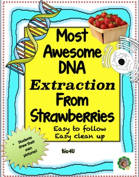 Most Awesome Strawberry DNA Extraction Lab