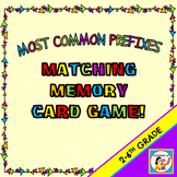Most Common Prefixes Matching Memory Card Game!