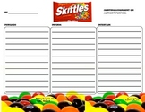 Author's Purpose Skittle Writing