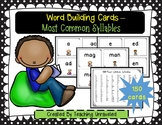 Most Common Syllables - Word Building Cards Set 1