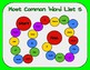 Most Common Word List 5 Board Game - Reading Horizons Accessory