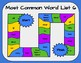 Most Common Word List 6 Board Game - Reading Horizons Accessory