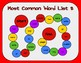 Most Common Word List 8 Board Game - Reading Horizons Accessory