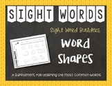 Most Common Words: Word Shapes ~ Reading Horizons Companion