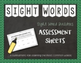 Most Common Words: Assessment Sheets ~ Reading Horizons Companion