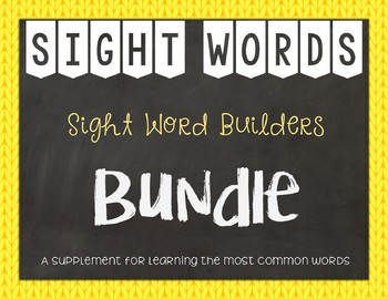 Most Common Words Lists: BUNDLE ~ Reading Horizons Companion