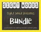 Sight Word Builders: BUNDLE ~ Reading Horizons' Most Common Words