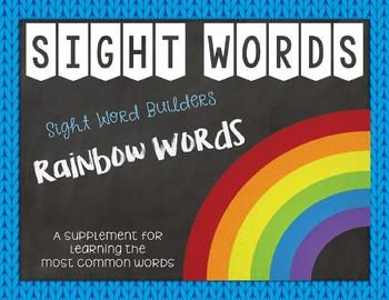 Most Common Words Lists: Rainbow Write ~ Reading Horizons