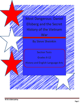 Most Dangerous: Dan Ellsberg - Secret History of the Vietnam War Book Tests