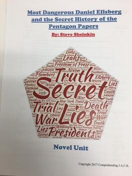 Most Dangerous Daniel Ellsberg and the Secret History of Vietnam War Novel Unit