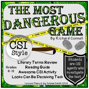 Most Dangerous Game - CSI Style