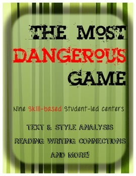 Most Dangerous Game Centers