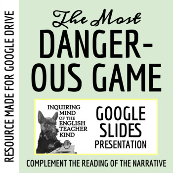 """""""Most Dangerous Game"""" by Richard Connell - PowerPoint Review"""