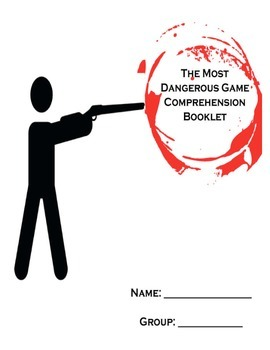 Most Dangerous Game by Richard Connell Package - vocab,comprehension etc