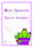 Most Improved in English Grammar