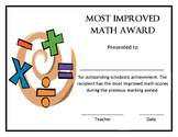 Most Improved in Mathematics Award