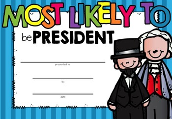 Most Likely To...(End of Year Awards)