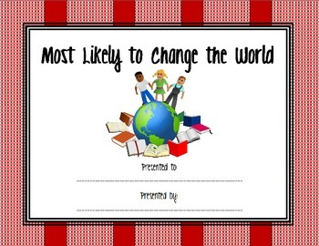 Most Likely to Change the World