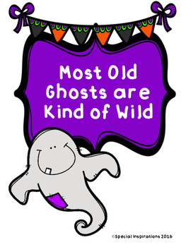 Most Old Ghosts are Kind of Wild! Board Game & Sort