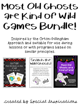 Most Old Ghosts are Kind of Wild Games Bundle! Orton-Gillngham