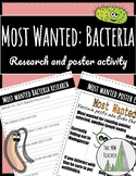 Most Wanted Bacteria Poster Activity