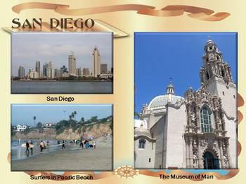 America - Most beautiful cities - 35 slide PowerPoint presentation