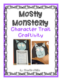 Mostly Monsterly: Character Traits Craftivity