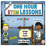 (Mostly) One Hour STEM Lessons - BRIDGES,ROADS, HOUSES For