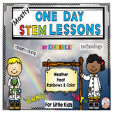 (Mostly) One Hour STEM Lessons Weather, Heat, Rainbows & C