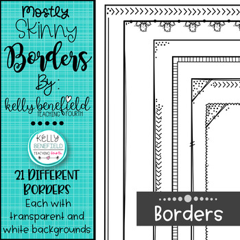 Mostly Skinnies Borders Set #2