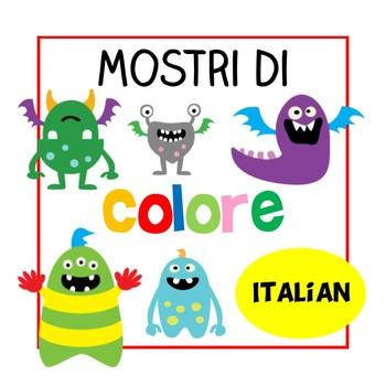 Mostri di Colore - Italian Colours Poster